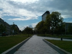 Pohled na campus