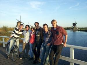 Kinderdijk a větrné mlýny